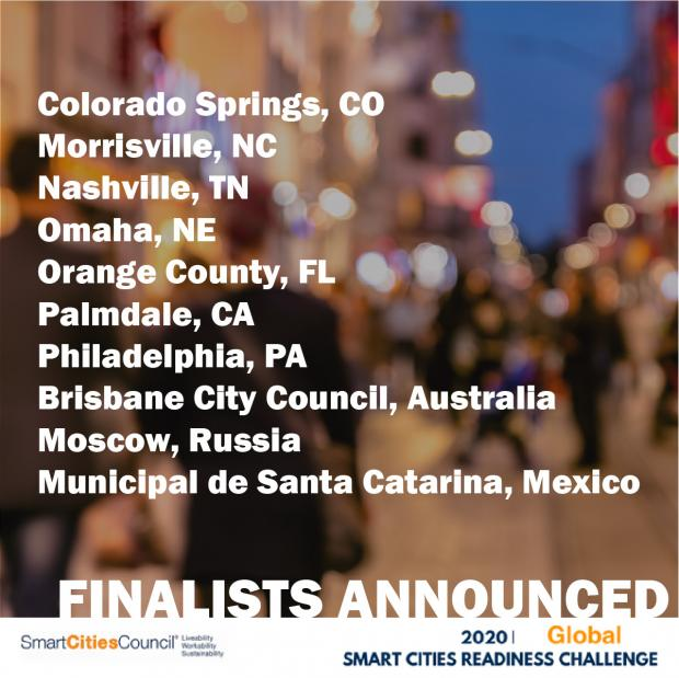 Smart Cities Council announces Finalists for the first Readiness Cohorts for 2021