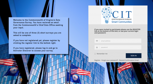 Virginia communities invited to data governance survey