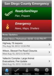 SD Emergency mobile app