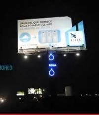 Peru's water billboard