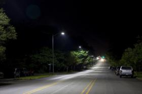 GE LED roadway fixtures