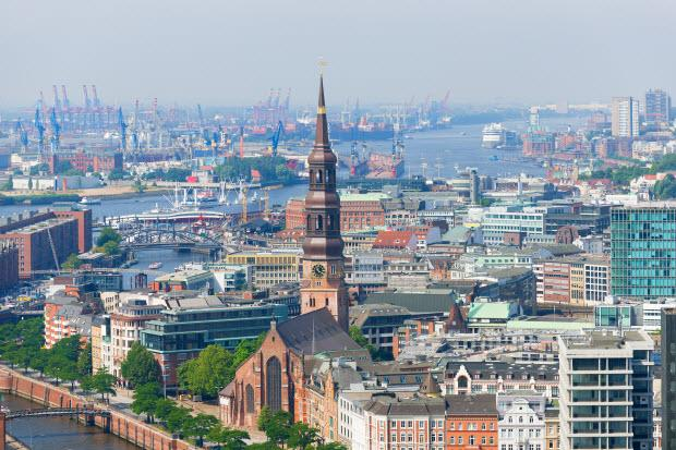 Hamburg and its port